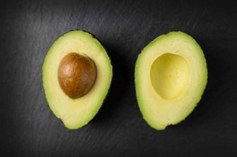 Avocado is a superfood for hair growth