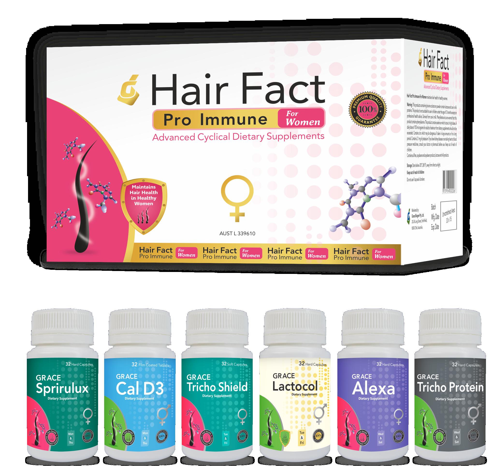 Hair Fact Pro Immune For Women